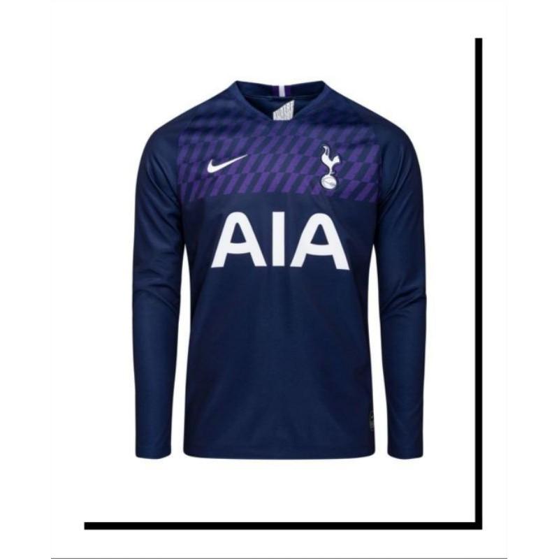 Tottenham Away Jersey Longsleeve Shopee Malaysia