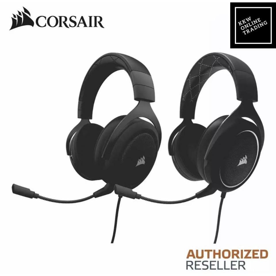 CORSAIR HS60 SURROUND Gaming Headset White (AP) - CA-9011174-AP