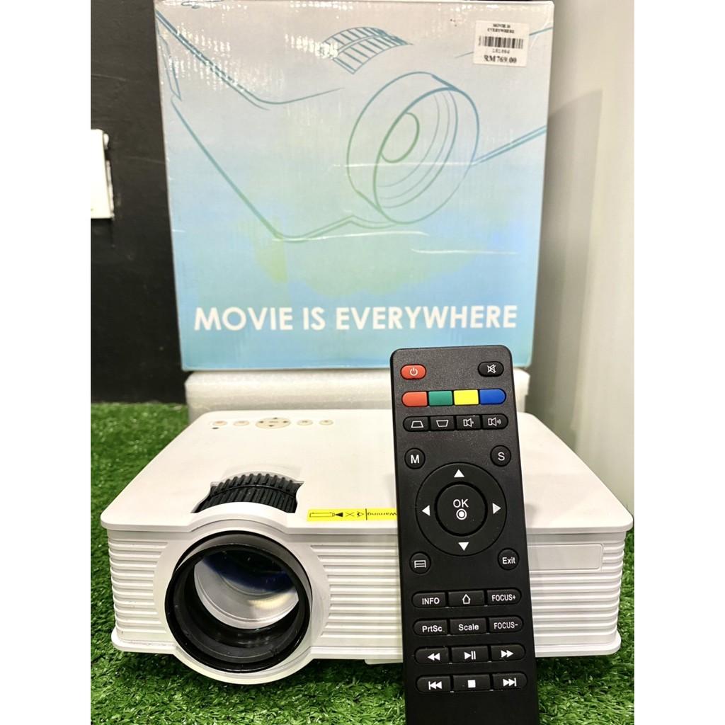 [ ON SALE ] Movie is everywhere projector【高清投影机】家用家庭影院1080P高清投影机WiFi投影机