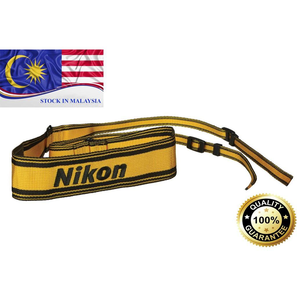 Genuine DSLR Camera Neck Strap AN-6Y for Nikon (Ready Stock In Malaysia)