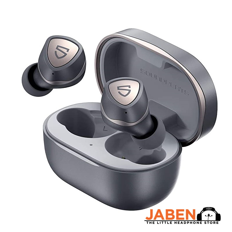 SoundPEATS  Sonic atpX Dual cVc Microphone QCC3040 IPX5 Waterproof 15+30 Hrs Battery Type-C TWS In-Ear Earphones [Jaben]