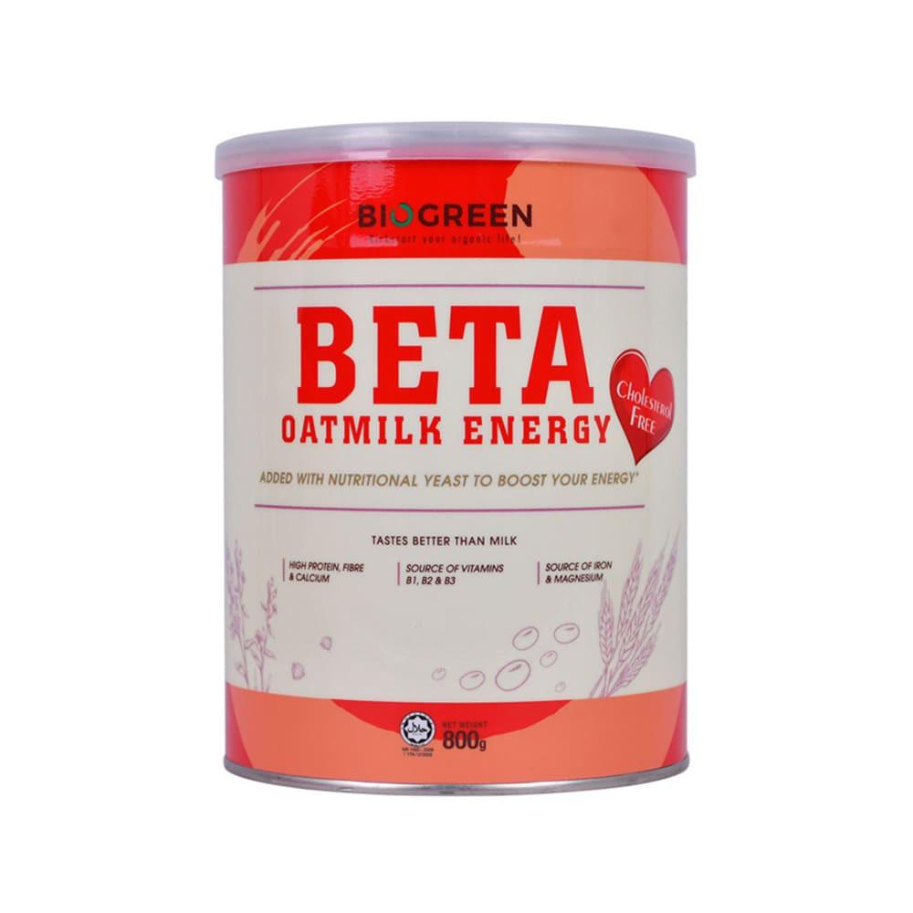 Biogreen Beta Oatmilk Energy 800g