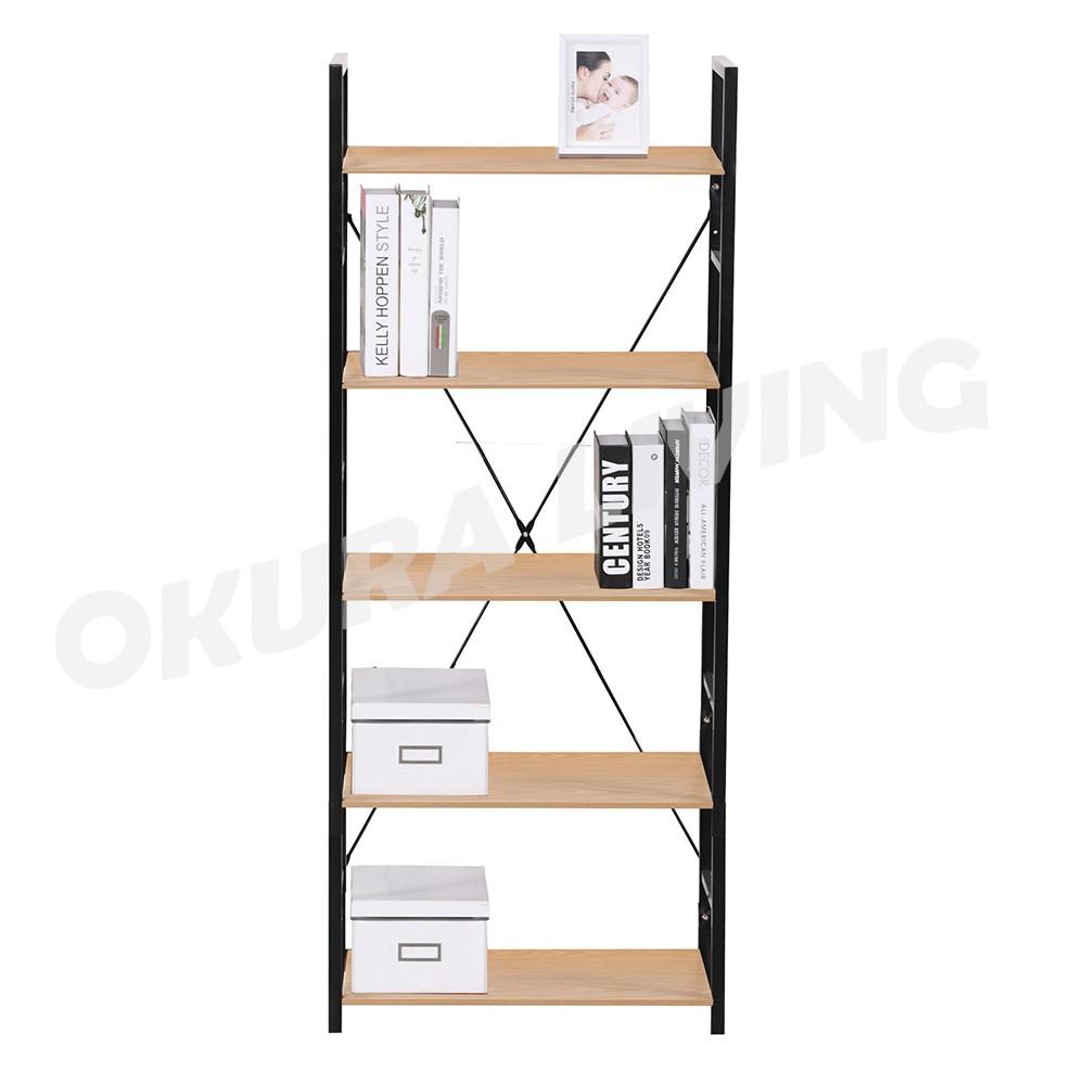 OKURA 5 Tier Multipurpose Shelf Home Living Office