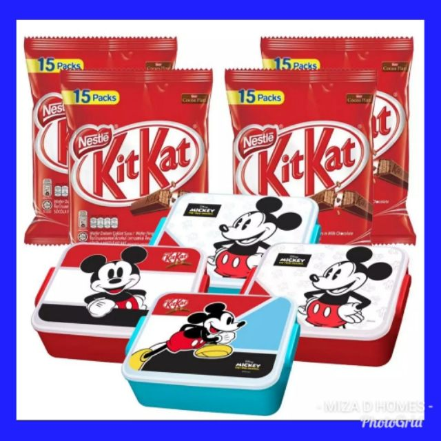 😍 *FREE CONTAINER* Original Nestle Kitkat 15 individual pack limited  edition ready stock 😍