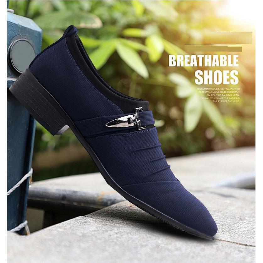 1c99eab3db13 Big Size 38~48 Office Business Shoes Gentlemen Men Formal Shoes Pointed Toe