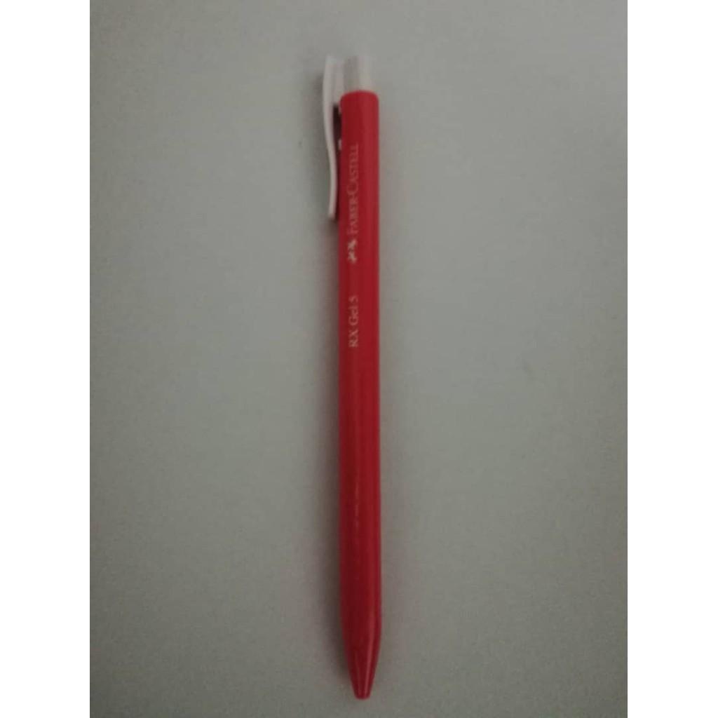 Faber Castell RX Gel Pen 0.5mm 3pcs