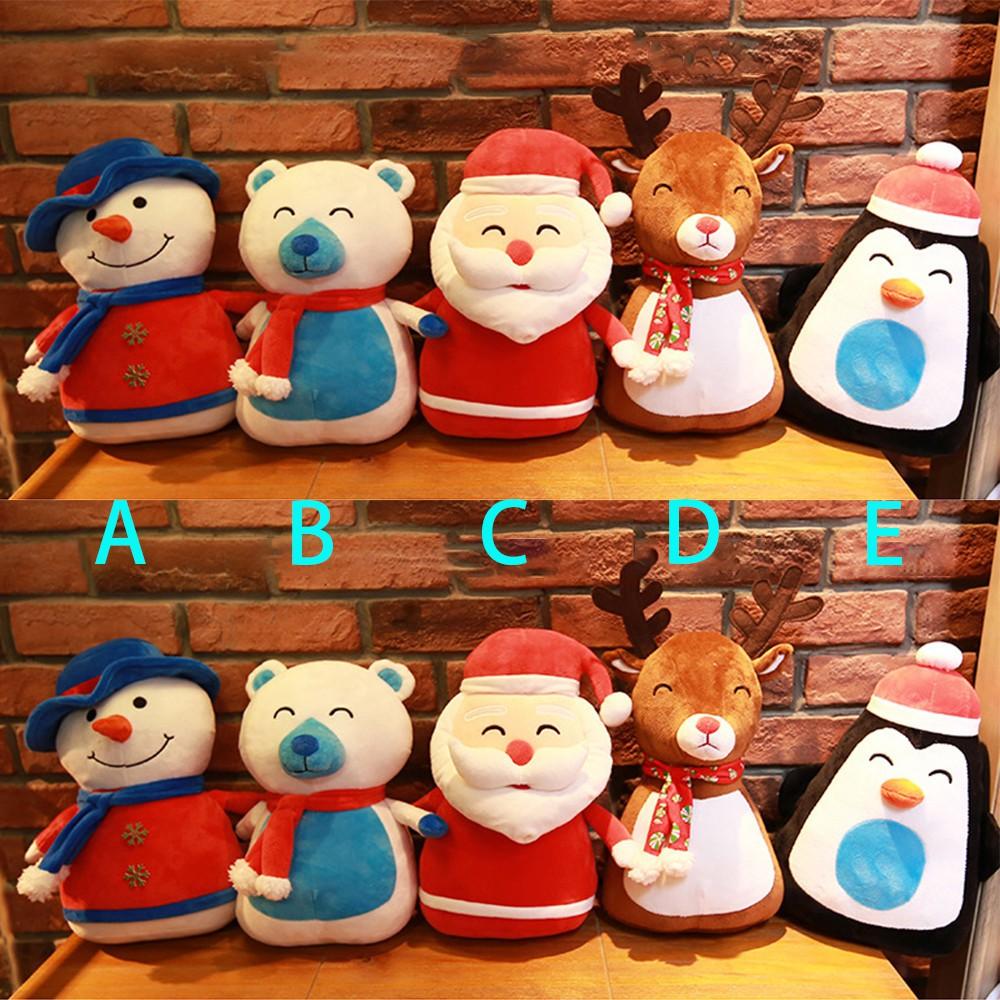 Snowman,Penguin Santa Clause New Christmas Gel Sticker with LED Light  Deer