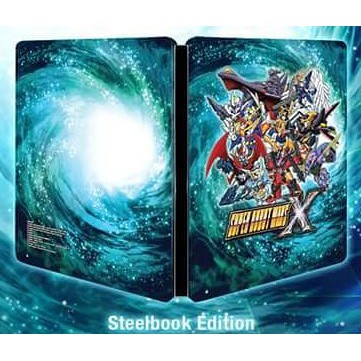 Super Robot Wars X Steelbook (No Game)