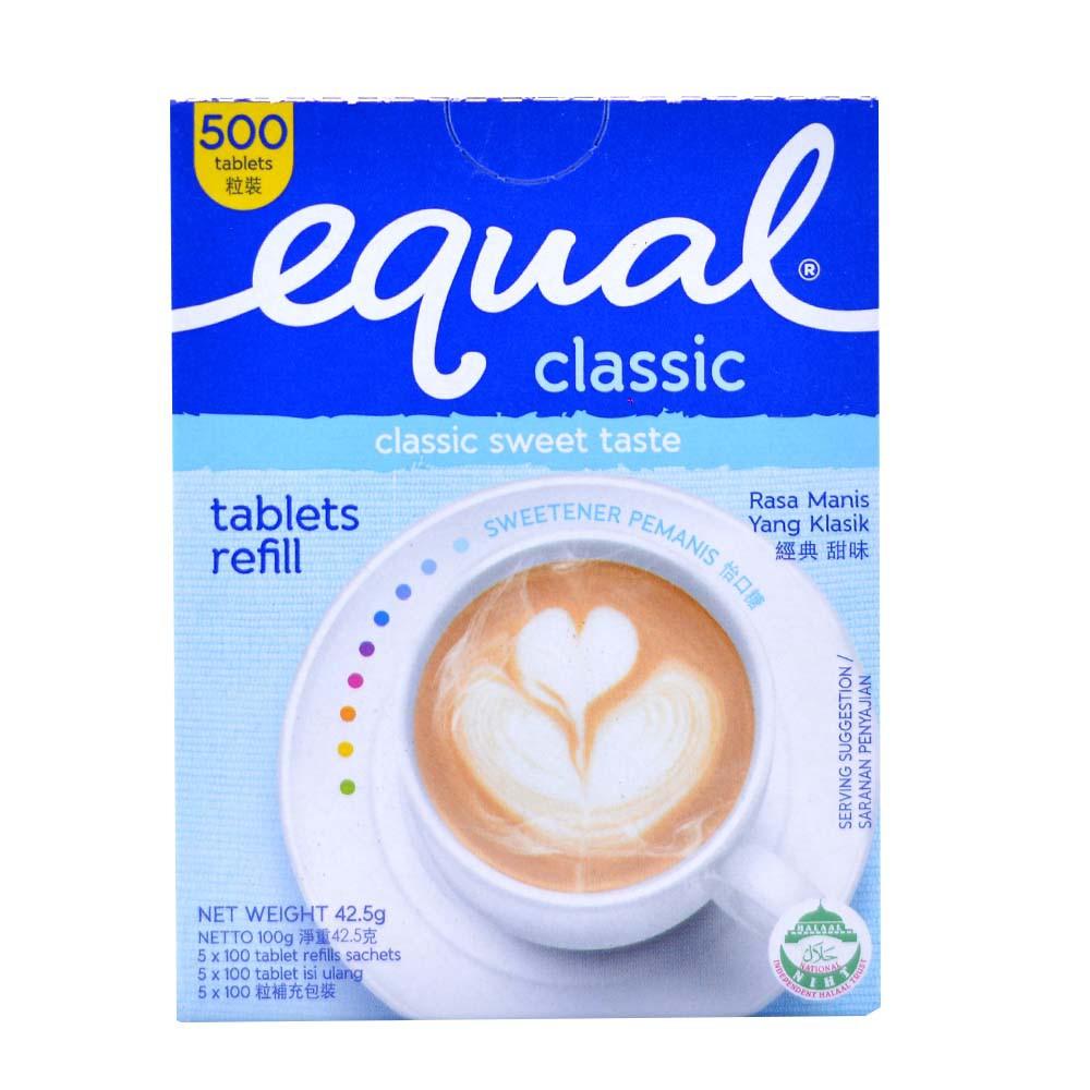 Equal Tablets Refill 500 Tab Free 100tab Shopee Malaysia Redoxon Tablet Isi 15