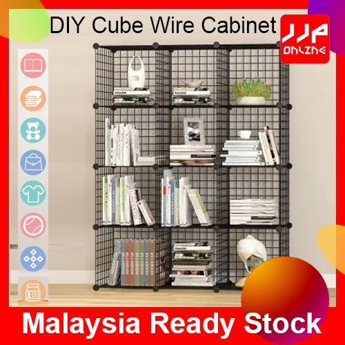 Artist Cube Storage Wire Cabinet Metal