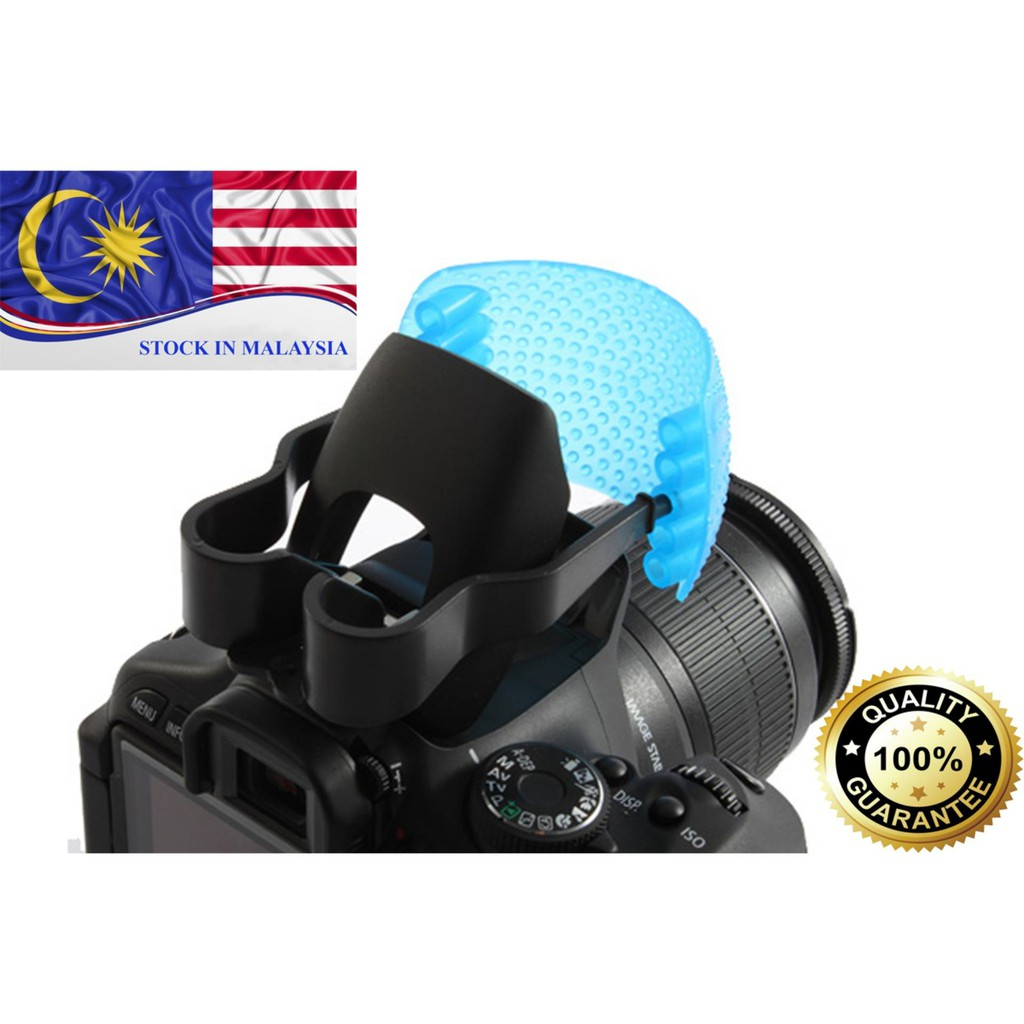 3 Color Pop up Flash Diffuser For DSLR Cameras (Ready Stock In Malaysia)