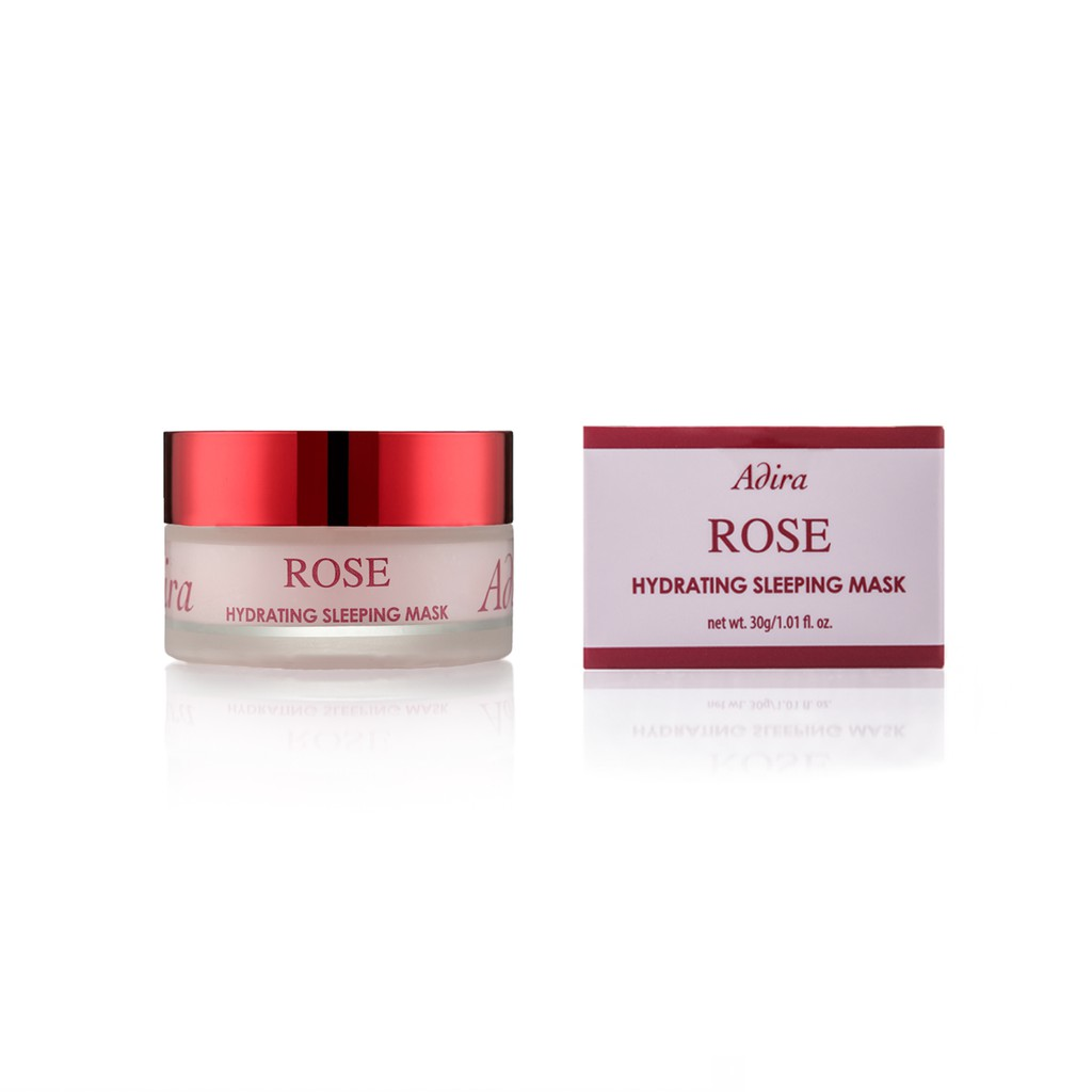 Adira Hydrating Rose Sleeping Mask 30g