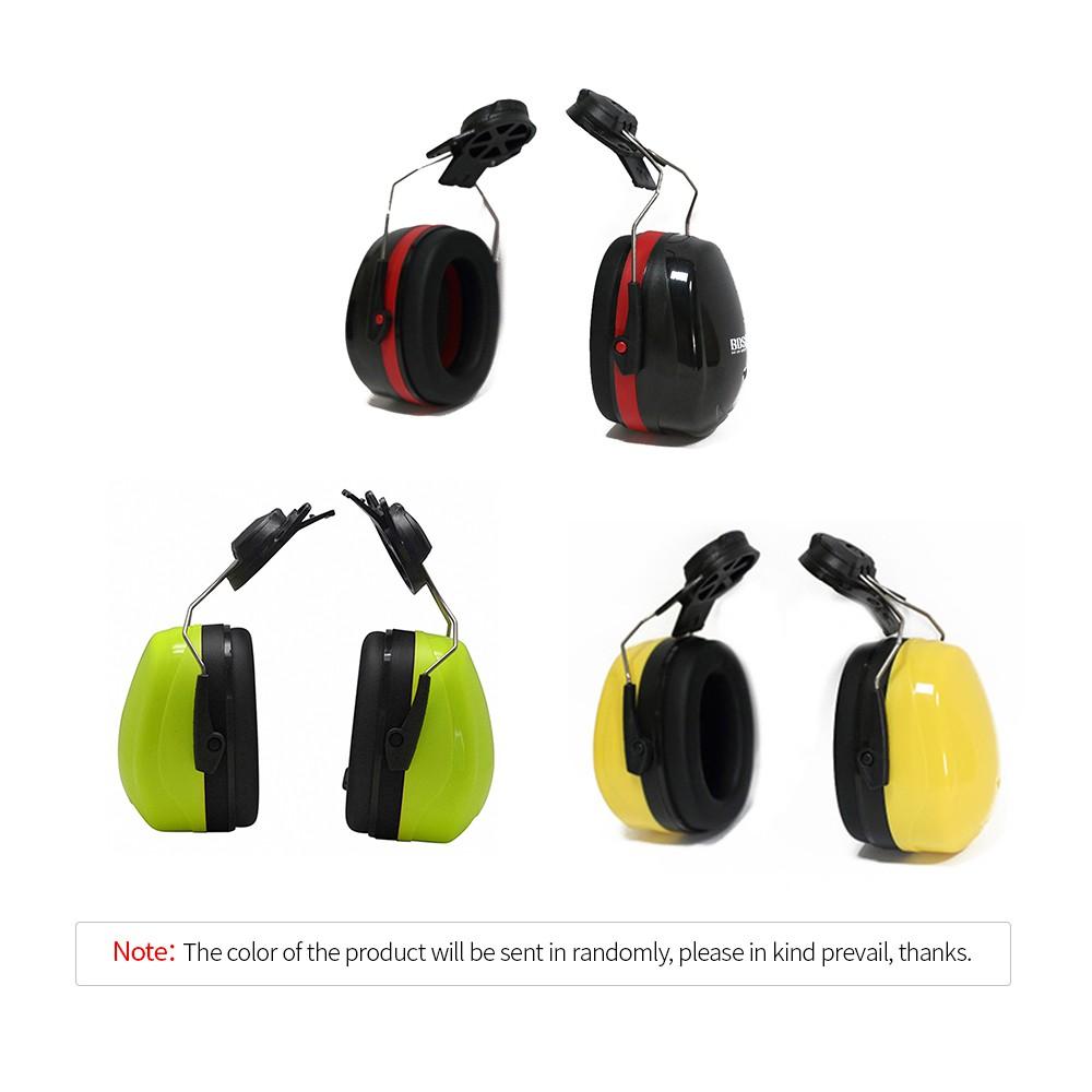 a53fad516701 Hard Hat Mounting Ear Muffs Cap Mount Protective Earmuffs Noise Reduction  Ear Co