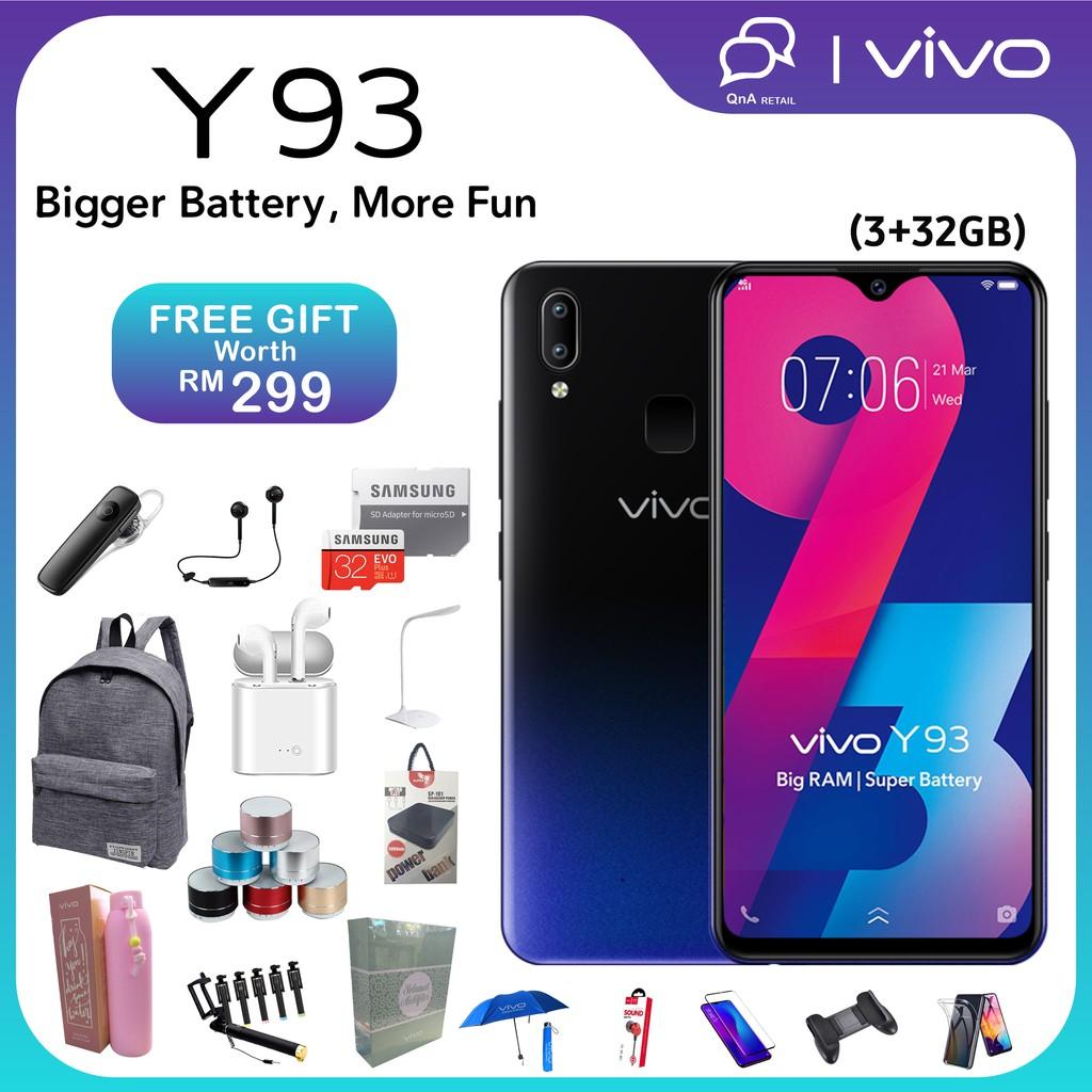 ✨Vivo Y93✨14 FREE GIFT🎁 3GB 32GB | Original VIVO Official Warranty