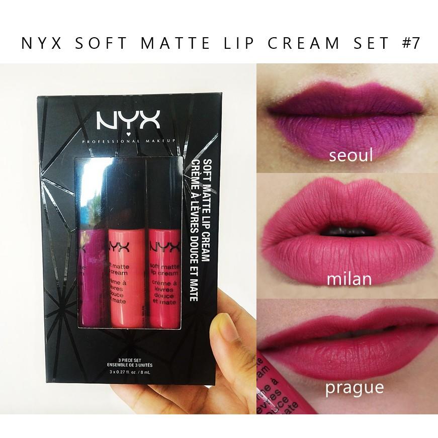 Nyx Soft Matte Lip Cream Stockholm Shopee Malaysia