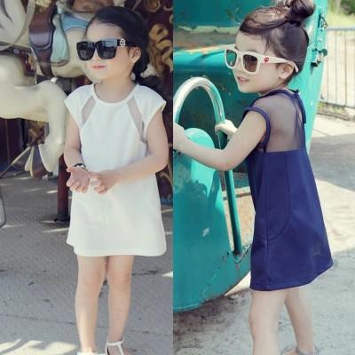 Baby Girl Kids Clothing Korean Style Summer Dress Beach Skirt 女童连衣裙公主裙