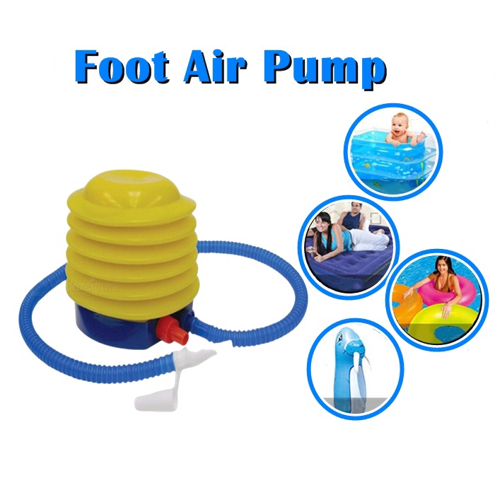 Inflatable Swimming Pool Bed Balloon Or Foot Air Pump