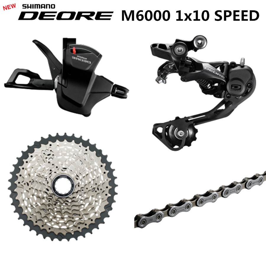 a4778d7d513 SHIMANO DEORE FC-M610 M615 M6000 20/30Speed mountain bike Crankset biycles  crank | Shopee Malaysia