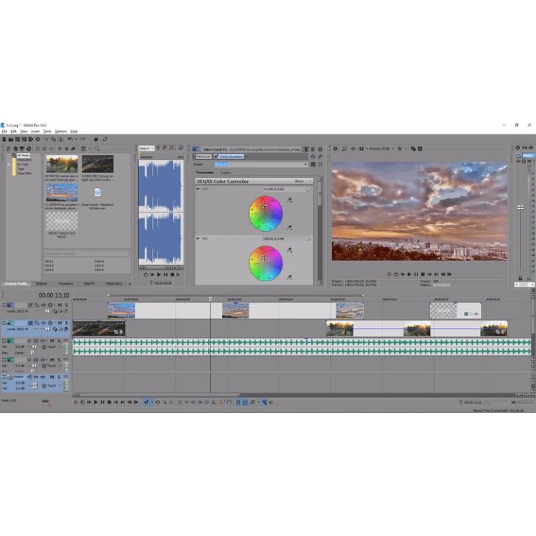 MAGIX / SONY VEGAS Pro 16 (x64) FULL VERSION   Software
