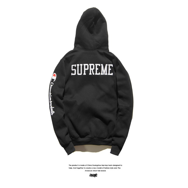 e76af4ac702c [In Stock] Supreme x Champion Hoodie Sweater X Street Wear Compilation |  Shopee Malaysia