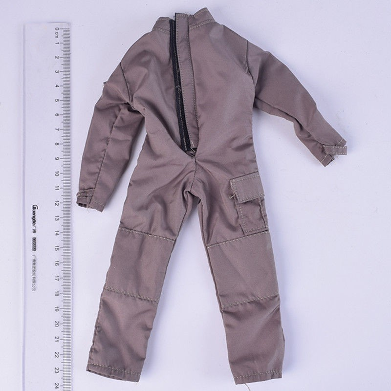 1//6 Soldier Coverall SWAT Siamese Jumpsuit Tactical clothing Suit Fit 12/'/' Body