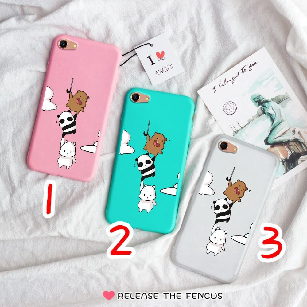 🐾 Oppo A33 A37 NEO 7 NEO 9 A39 A57 Cover We bare bears Soft Jelly Phone casing | Shopee Malaysia