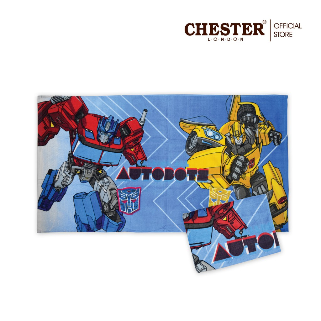 Chester London 100% Cotton Transformers / My Little Pony Towel - 27  X 54  Tuala