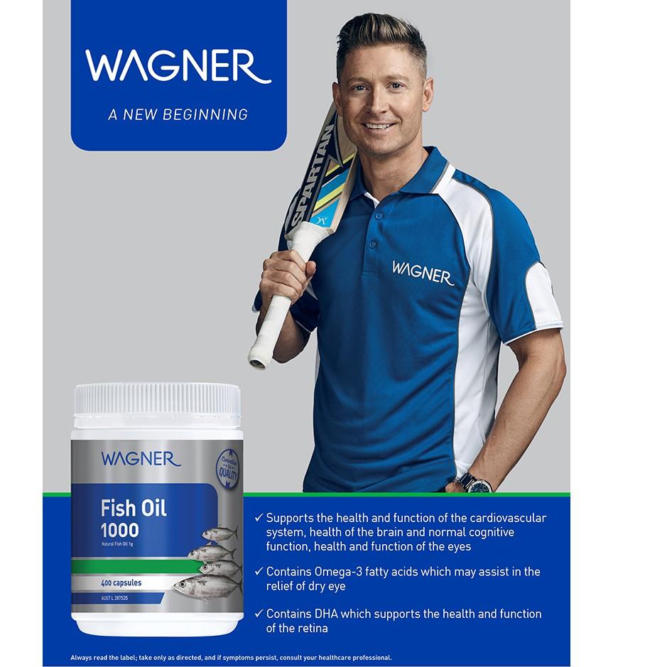 Wagner Fish Oil 1000 400 Capsules | Shopee Malaysia