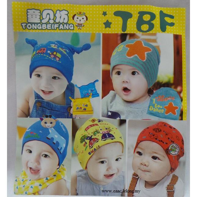 Newborn Baby Cute Cotton Hat Topi
