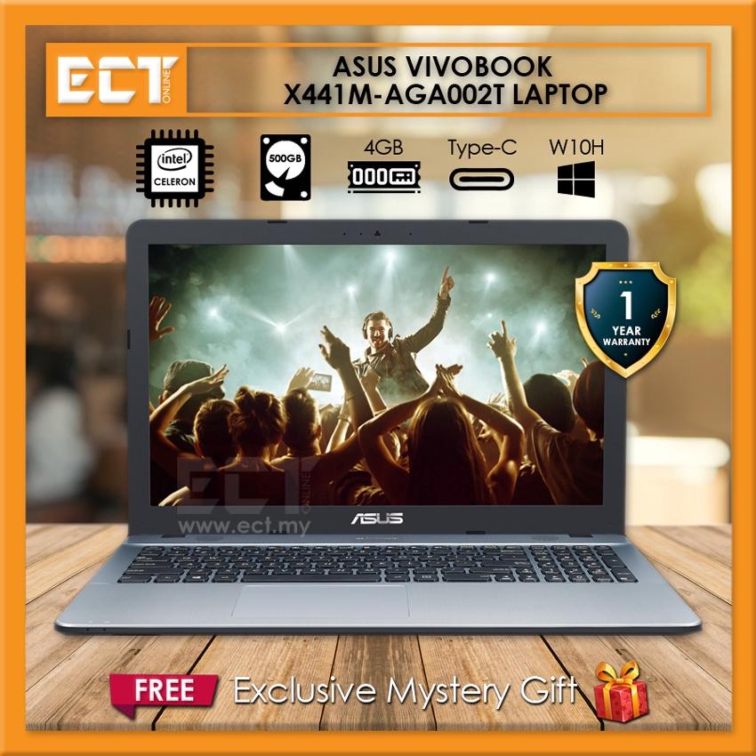 Asus Vivobook X441M-AGA002T Laptop (N4000 2 60GHz,500GB,4GB,14