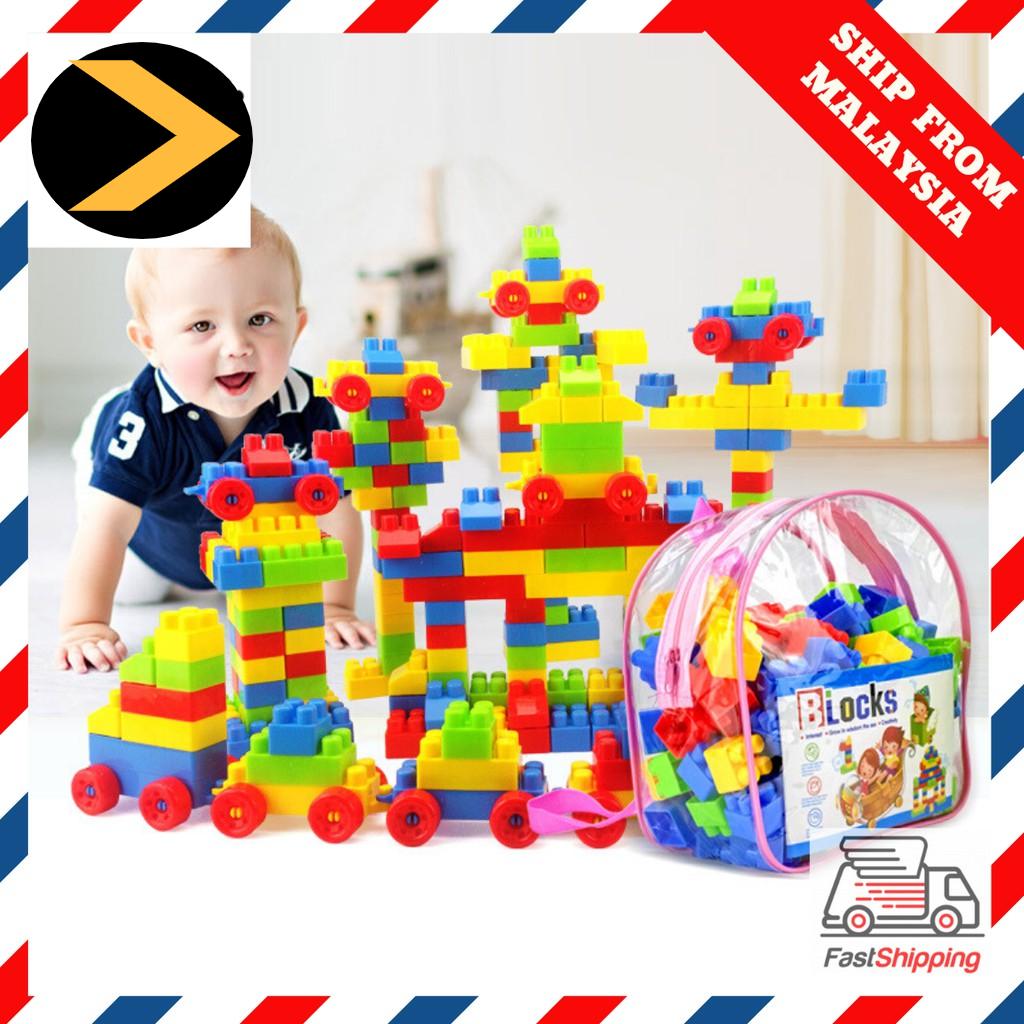 Hot item Children Large Particle Building Block Stacking Bricks Lego Compatible Figures