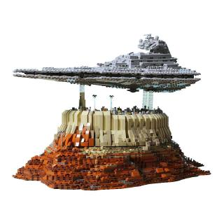 Lego Star Wars Series Jeddah Empire Diy Cruise Ship Empire Star Destroyer 5000 Pcs Moc Children S Toys Collection Gift Shopee Malaysia