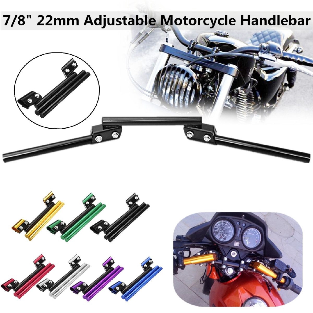 Motorcycle Balance Handlebar Modified Multifunction Crossbar Adjustable Gadget D