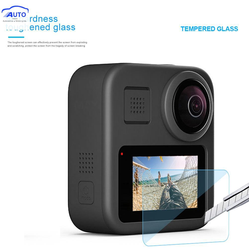 ITEC❤Tempered Glass Film LCD HD Screen Protector for GoPro Max Action Camera Mini Style