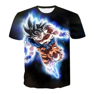 00ce32de Dragon Ball Z Men Anime T Shirts 3D Print Goku Tee Shirt Fashion Summer Tops  | Shopee Malaysia