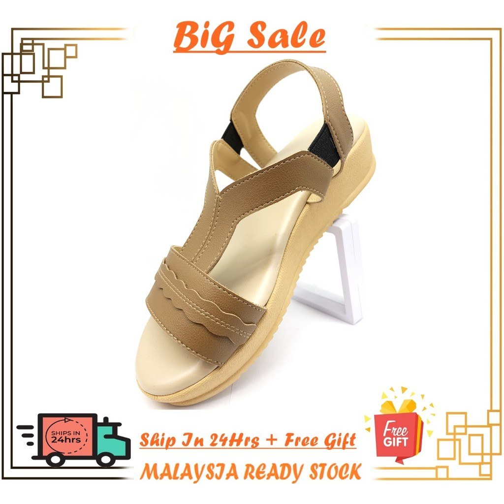 {Ready Stock}Ladies Non-slip Comfort Sandal
