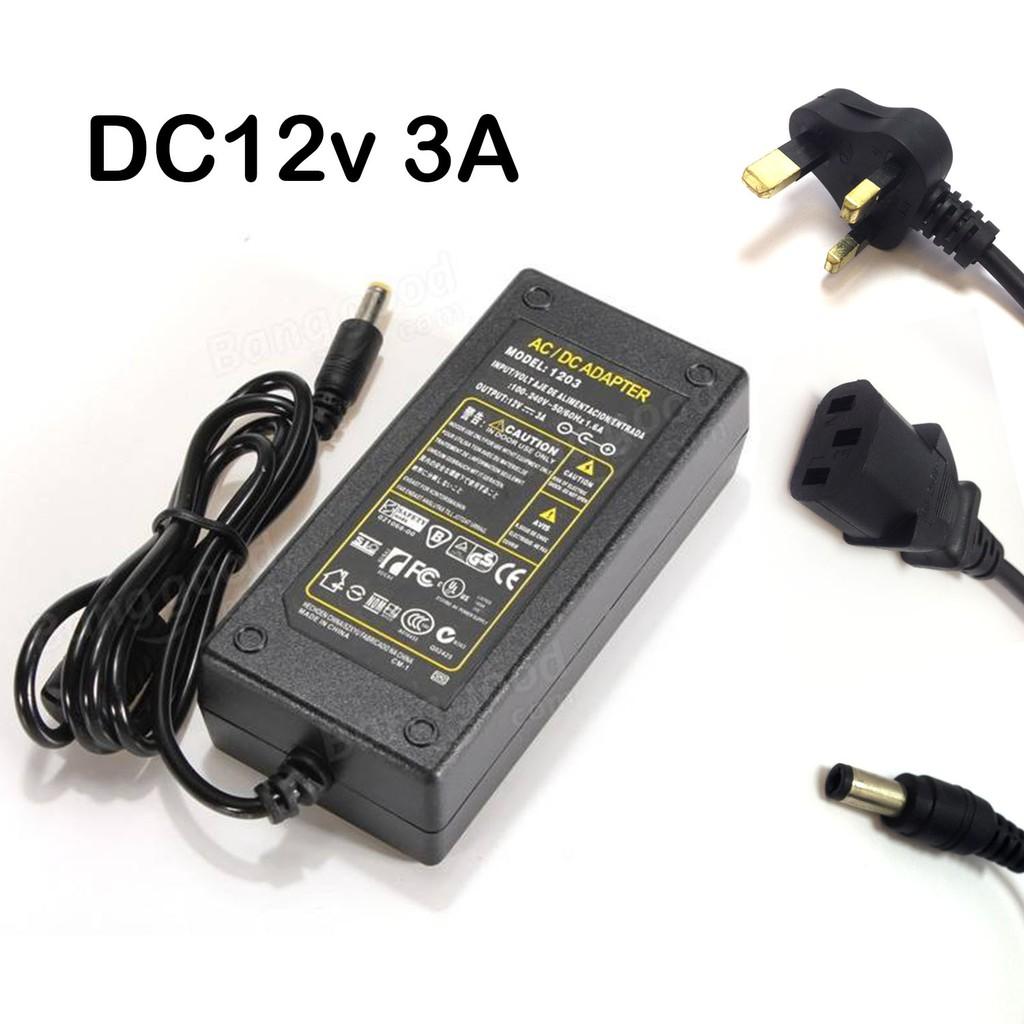 DC12v Power Adaptor 3A For CCTV Camera/DVR