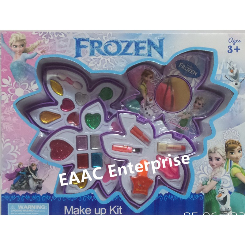 Frozen Washable Beauty Make Up Set Cosmetic Set- A toy for kids