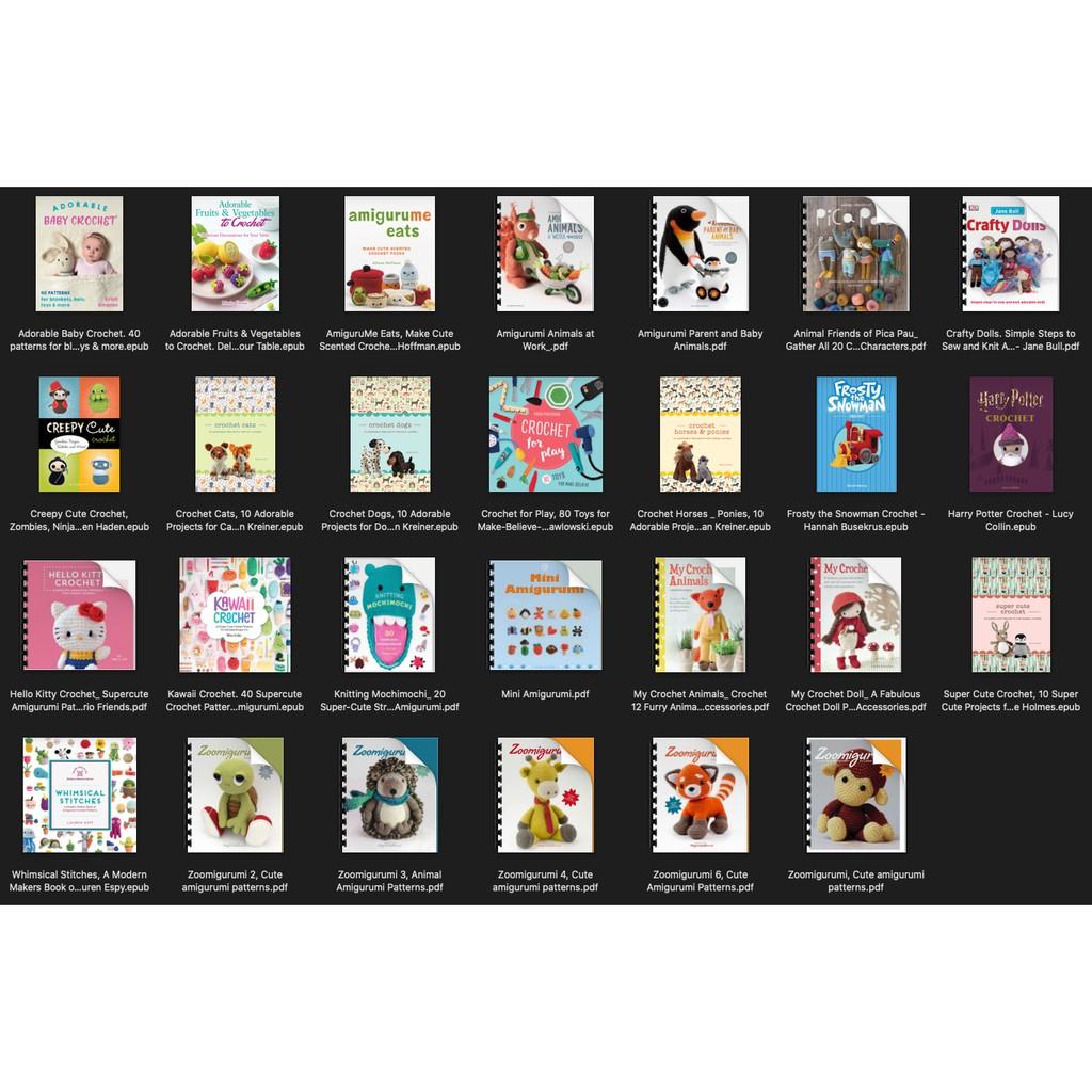 EPUB FREE Crochet Cute Critters 26 Easy Amigurumi Patterns [PDF DOWNLOAD]  Free Epub/MOBI/EB… in 2020 | Easy amigurumi pattern, Amigurumi pattern,  Crochet patterns amigurumi | 1024x1024