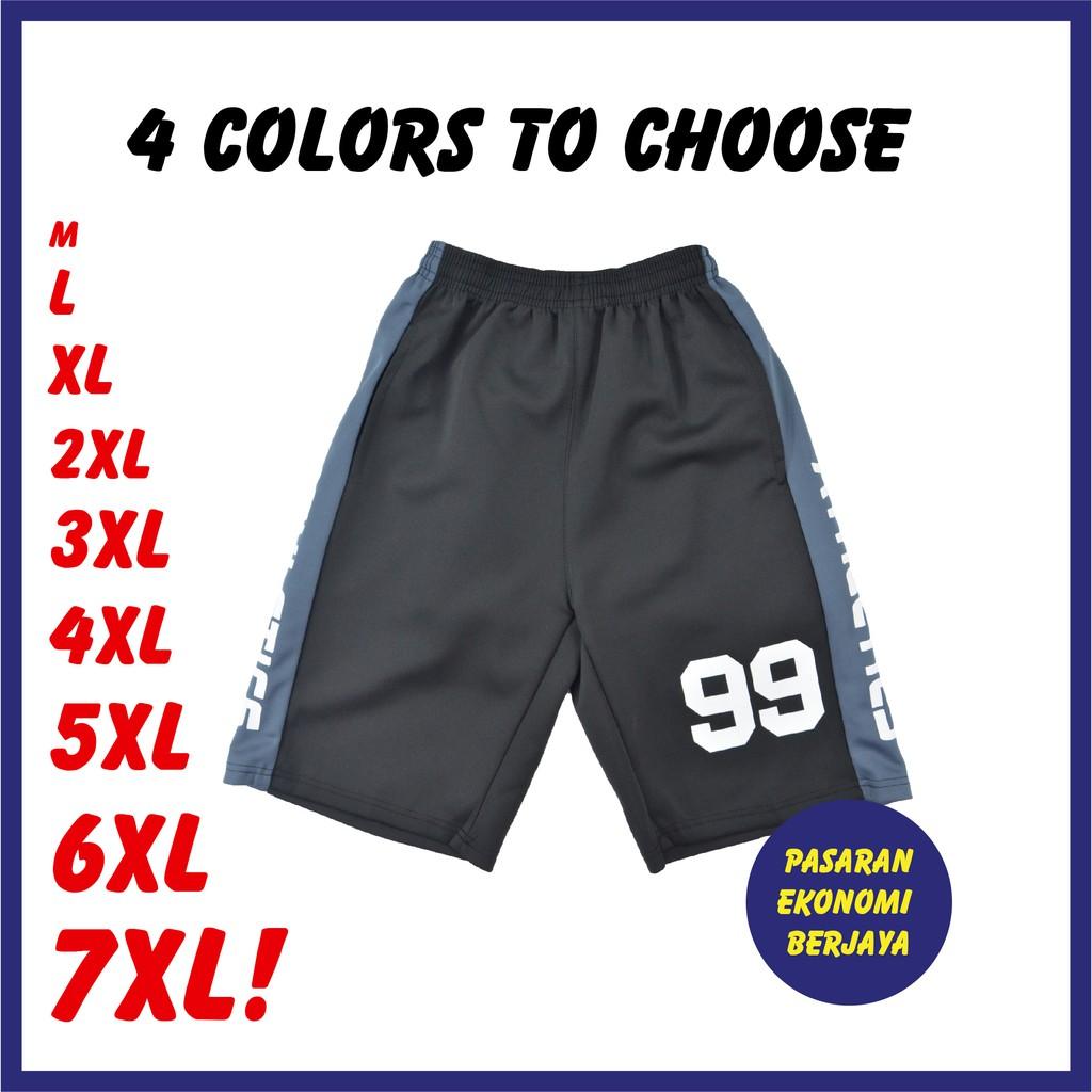 SELUAR PENDEK GETAH LELAKI 4105A#/ CASUAL SHORTS/ SHORT PANTS/ ELASTIC SHORT PANTS/ MEN'S CASUAL PANTS/ SELUAR GETAH