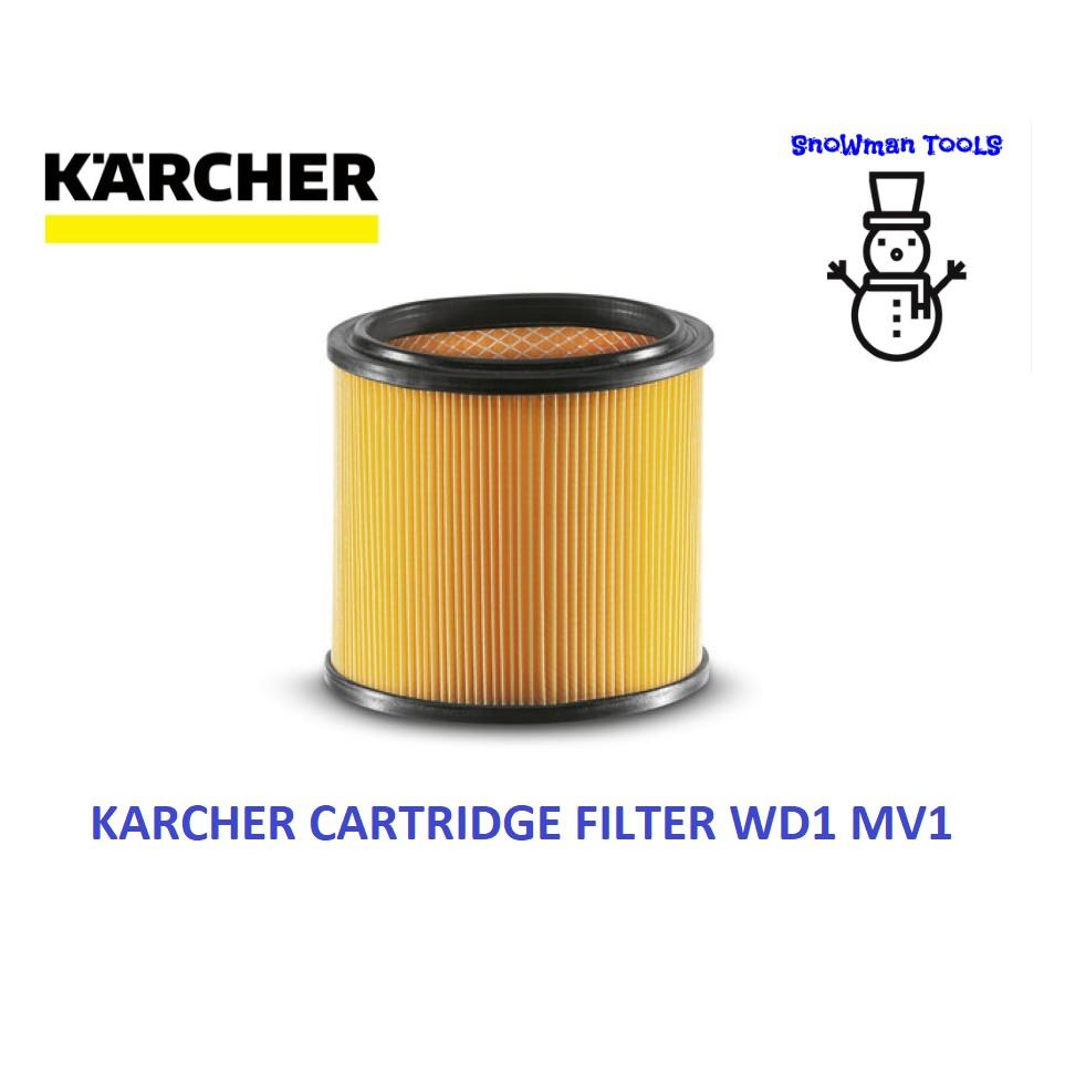 KARCHER WD1 MV1 VACUUM CLEARER CARTRIDGE FILTER