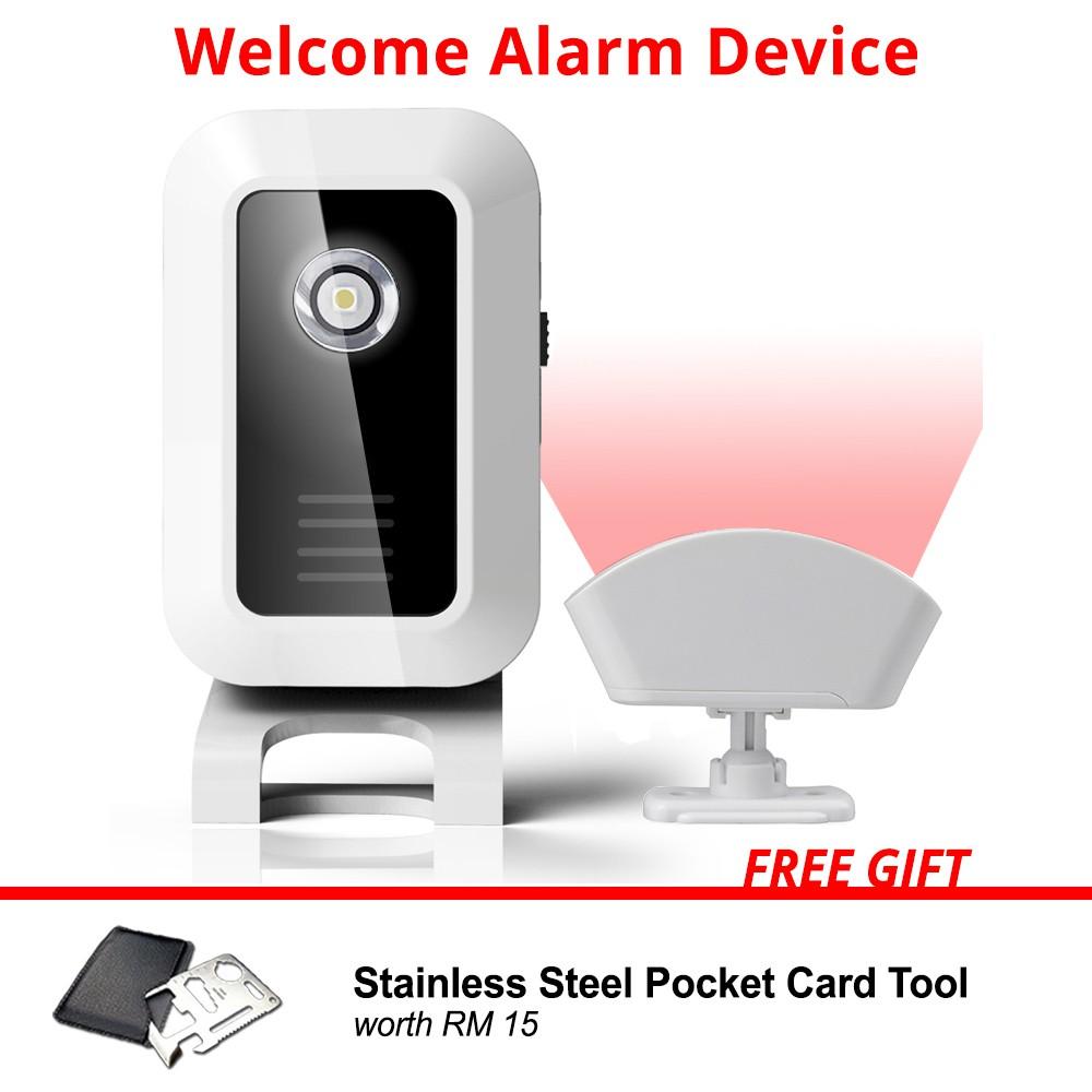 ZOGIN Wireless Digital DoorBell  Door Chime Waterproof Temperature Auto-sensing