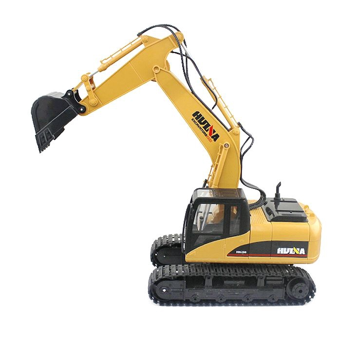 RC ALLOY EXCAVATOR RTR WITH INDEPENDENT ARMS PROGRAMMING