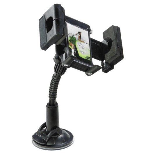 FLY S2112W UNIVERSAL IN-CAR MOBILE PHONE HOLDER 360°ROTATING SUITABLE FOR ANY MOBILE PHONE MP4 PDA GPS SYTEM