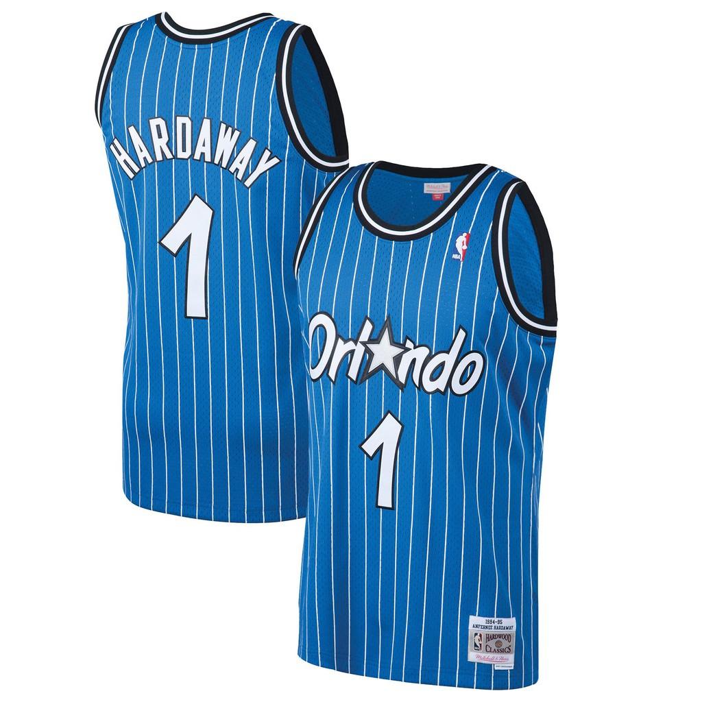 outlet store 64e03 ecec5 *Superbrand* Nike NBA Mitchell & Ness basketball Jerseys Jersey Orlando  Magic Hardwood Classics Ready Stock