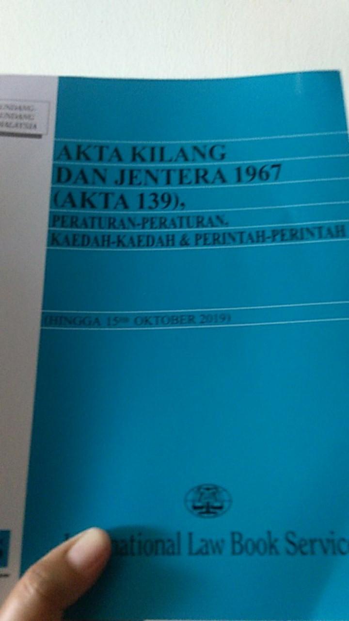 Akta Kilang Dan Jentera 1967 2019