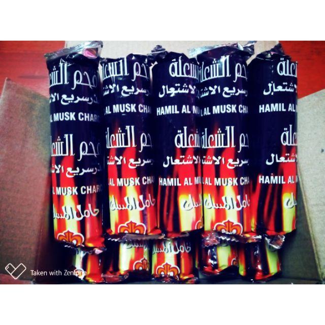 [Buy 3, Free 1] BAMBOO CHARCOAL SHISHA BUKHOR BAKHOOR | ARANG BULUH (1 packet)