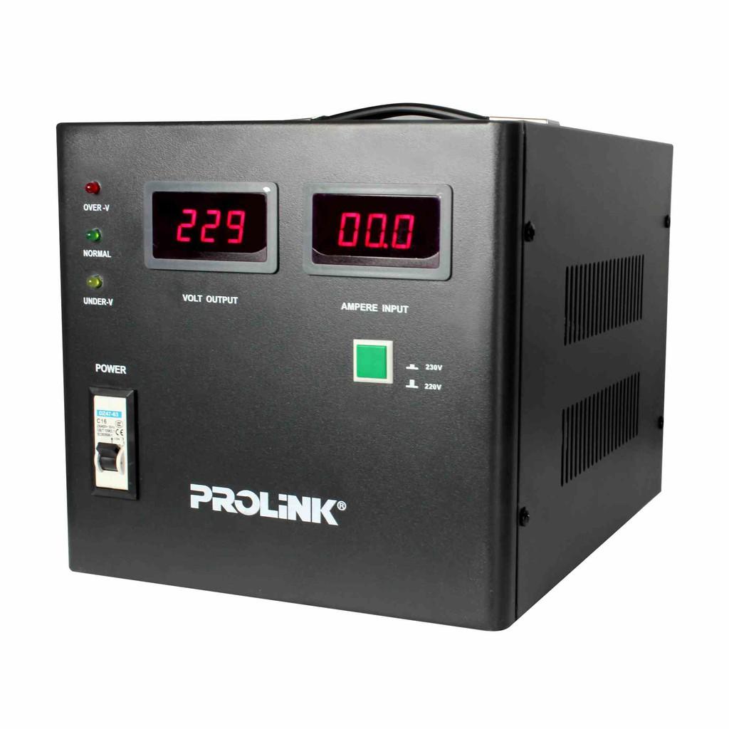 PROLiNK 3KVA/2400W Servo Motor Control Industrial Grade Stabilizer AVR Auto Voltage Stabilizer PVS3001CD