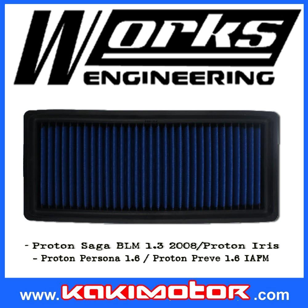 Works Engineering Drop in Filter - Proton Persona/Saga BLM/Iriz
