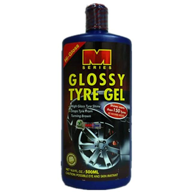 M SERIES GLOSSY TYRE GEL 500ML